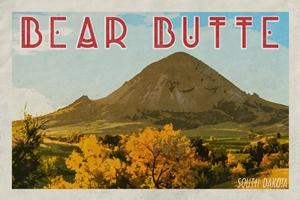 Bear Butte Poster (Design 1)