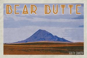 Bear Butte Poster (Design 4)