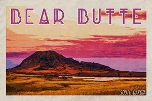 Bear Butte Poster (Design 2)