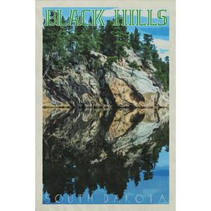 Black Hills Poster (Design 15)