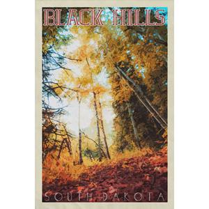Black Hills Poster (Design 14)