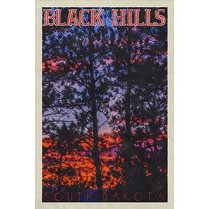 Black Hills Poster (Design 16)
